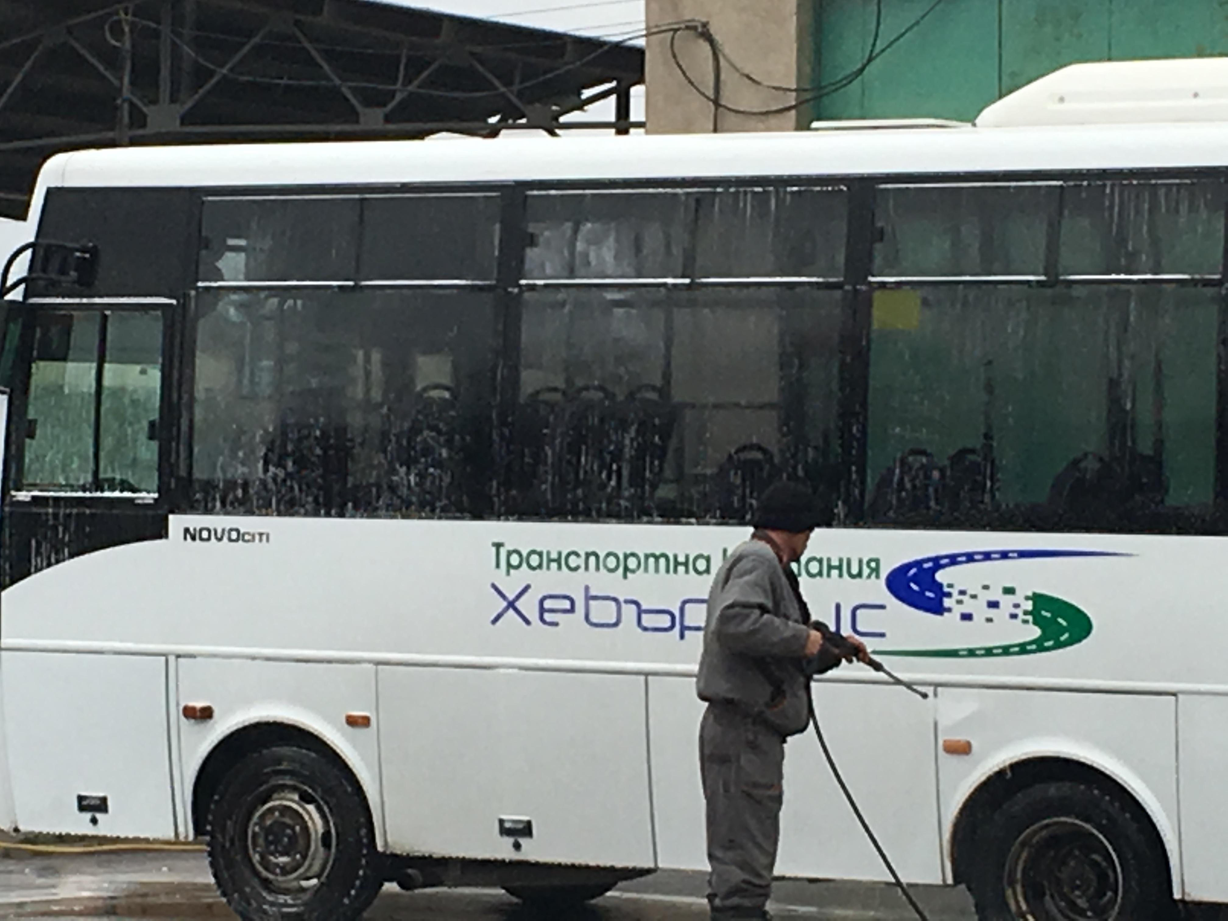 Повишени мерки за дезинфекция в обществения транспорт в Пазарджик